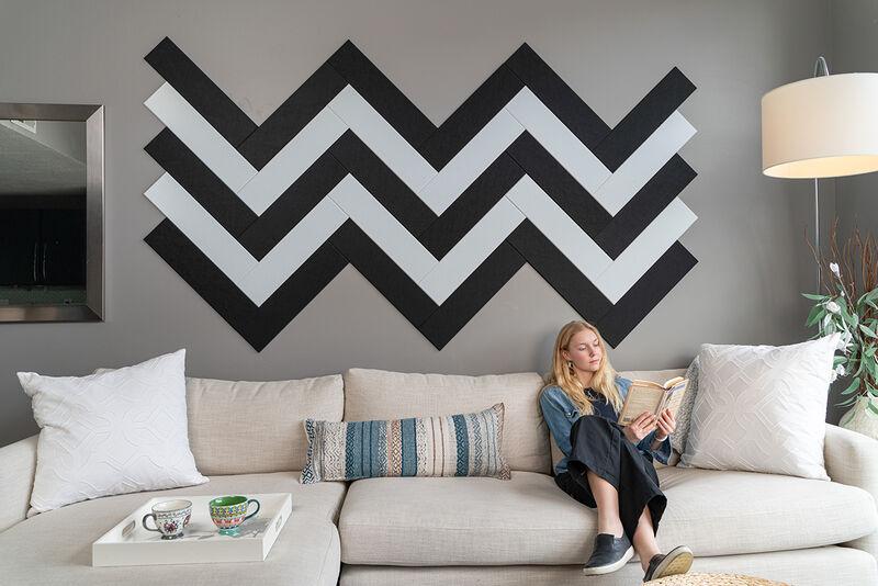 Colorful Felt Wall Tiles