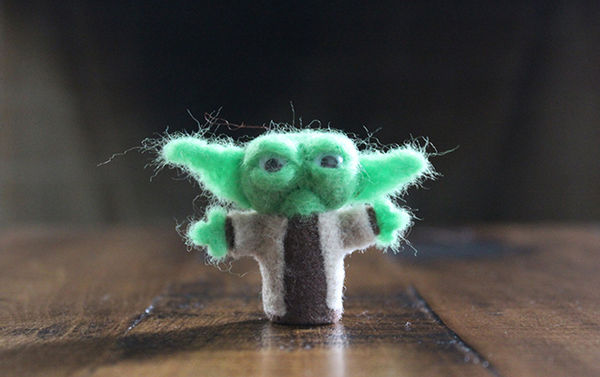 Sci-Fi Felted Figurines