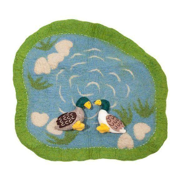 Handmade Felt Wool Playmats