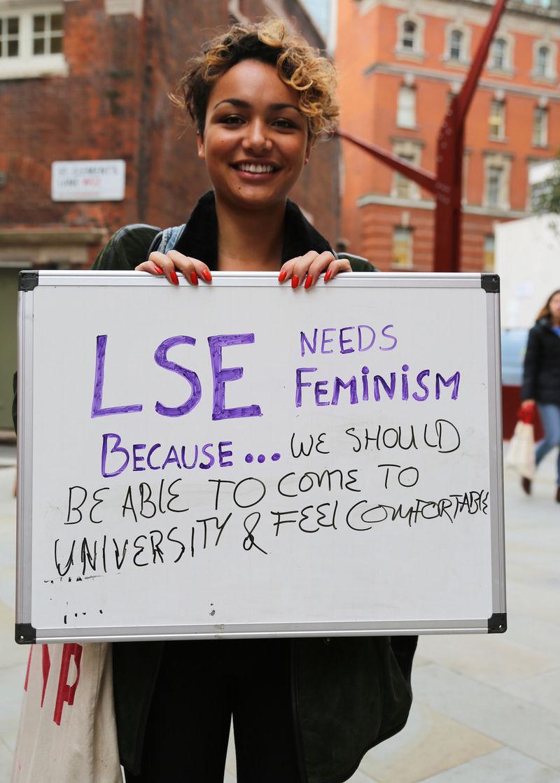 On-Campus Feminism Campaigns
