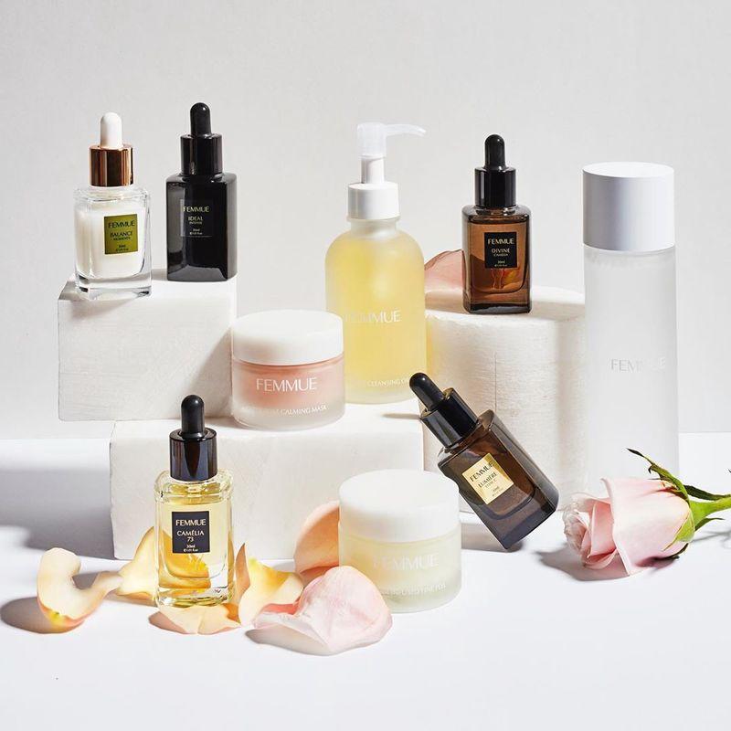 Aromatherapeutic Floral Skincare
