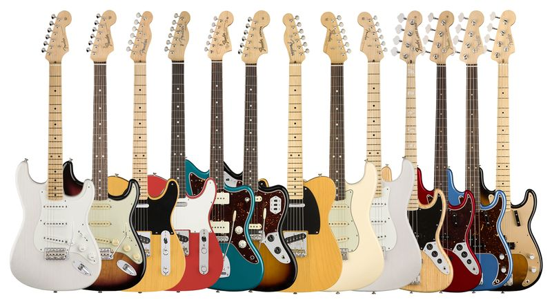 Tech-Updated Iconic Guitars