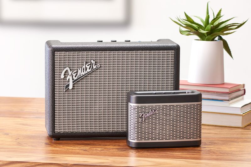 Amp-Inspired Bluetooth Speakers