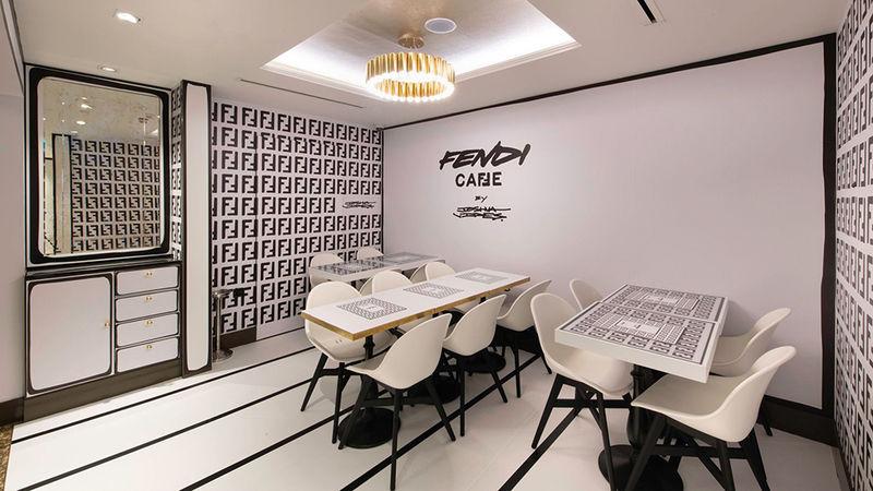 Luxury Fashion-Themed Cafes
