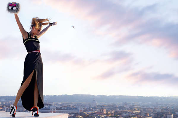 Epic Rooftop Fashion Ads