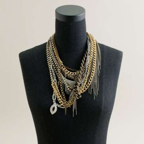 Rebellious Rhinestone Necklaces