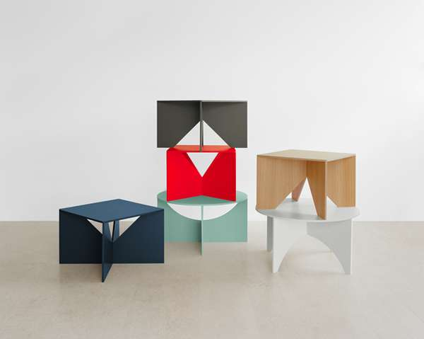Starkly Minimalist Furniture