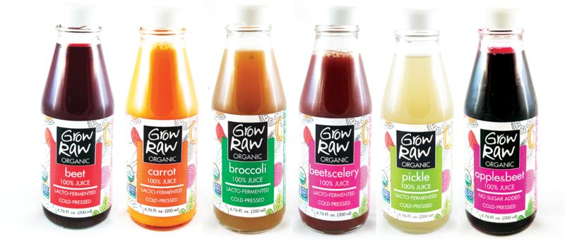 Cold-Pressed Fermented Juices