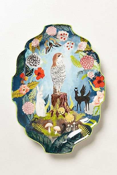 Decorative Woodland Pottery