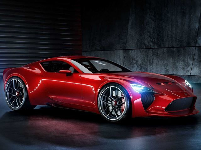 Modernized Italian Automotive Icons