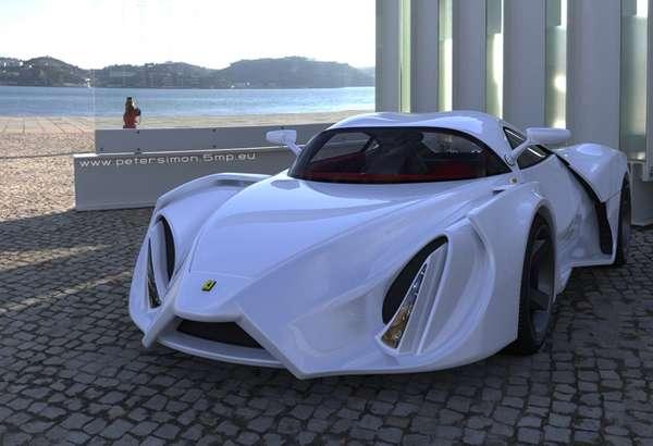 Razor Edged Racecars Ferrari Enzo Prototype