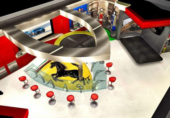 Radical Racing Car Garages