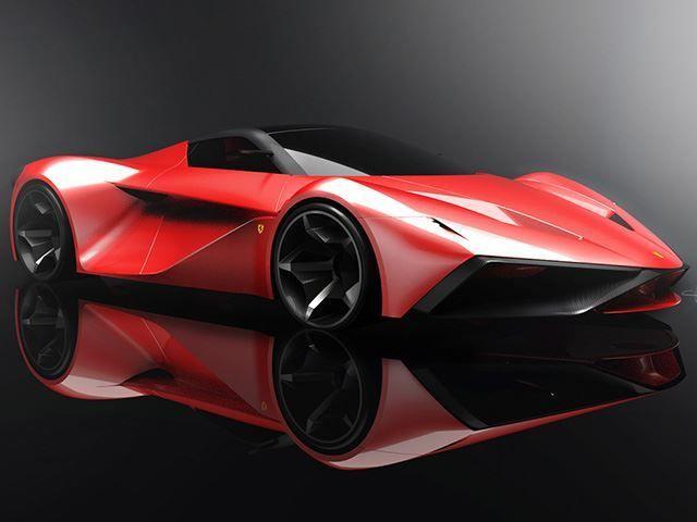 Conceptual Supercar Successors Ferrari Larossa