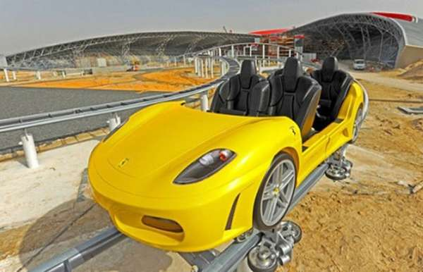 Supercar Rollercoasters