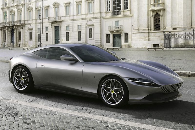 High-Powered Sleek Coupe Designs