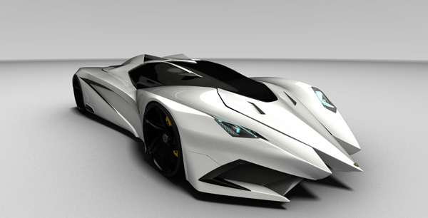 Jagged Jet Fighter Cars The Ferruccio Lamborghini Is The Ultimate