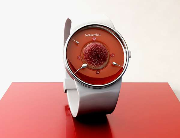 Sperm-Filled Timepieces
