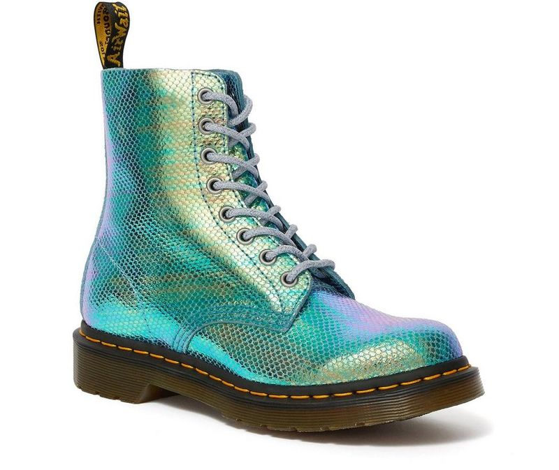 Scaly Iridescent Boots
