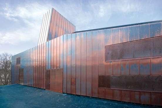 Celebratory Copper Halls