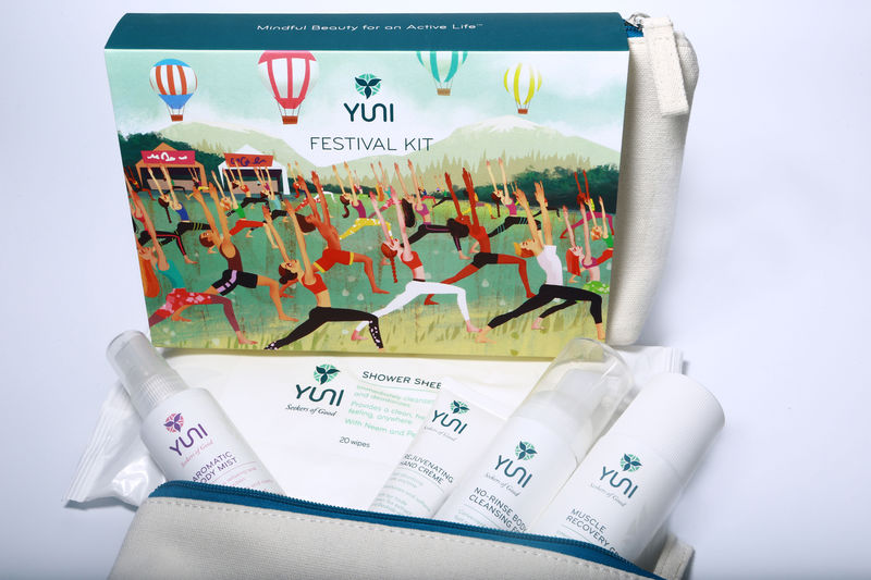 Festival-Themed Personal Care Kits