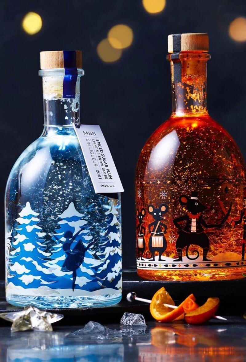 Light-Up Festive Liqueurs