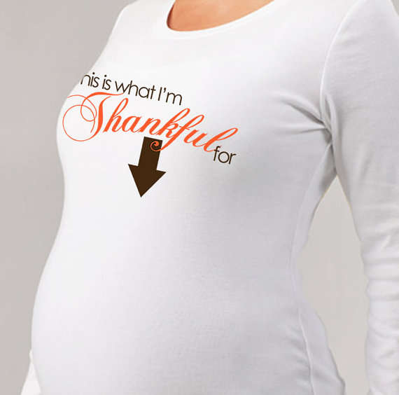 Pregnancy-Announcing Fashions