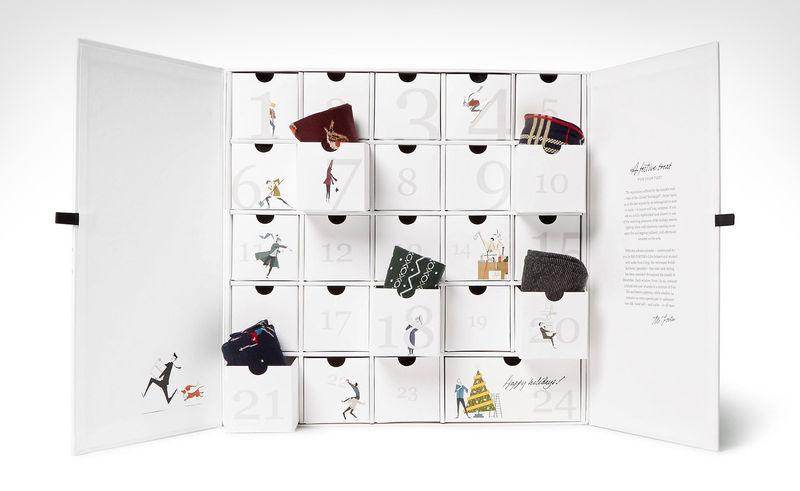 Fashionable Sock Advent Calendars