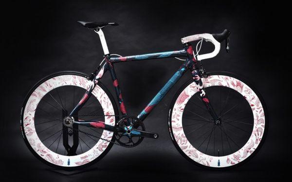 Illustrated Bike Frames