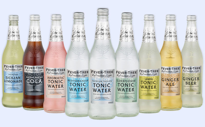 Infused Tonic Water Mixers