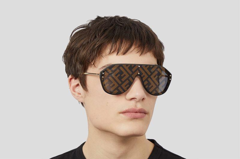Luxe Monogram Branded Eyewear