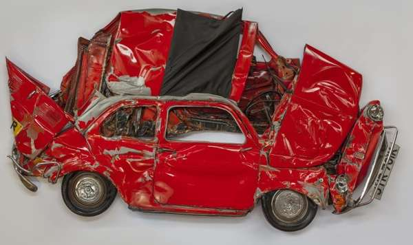 Crushed Car Displays