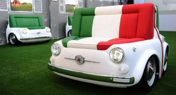 Automotive-Inspired Sofas