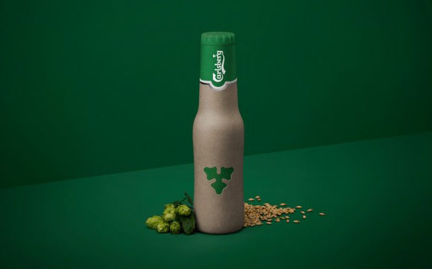 Sustainable Paper Beer Bottles