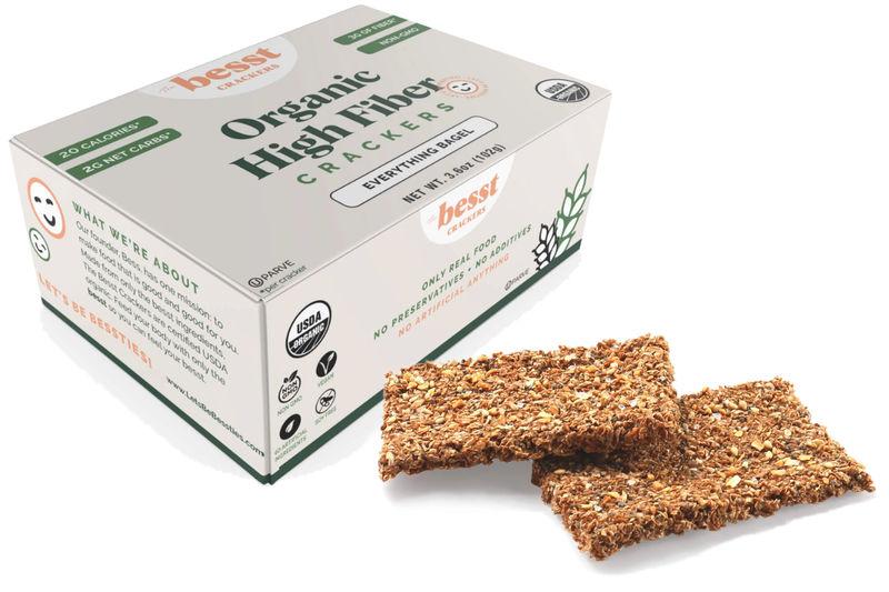 Clean High-Fiber Crackers