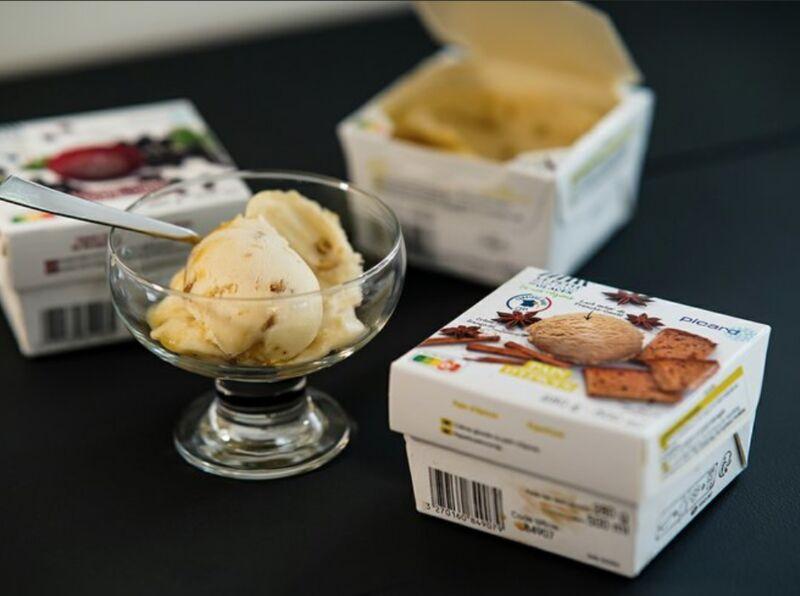 Fiber-Based Ice Cream Tubs
