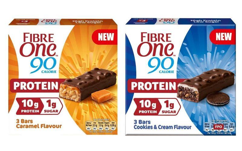 Fiber-Rich Protein Snack Bars