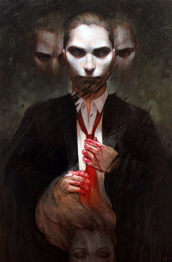 Spooky Fictional Character Portraits