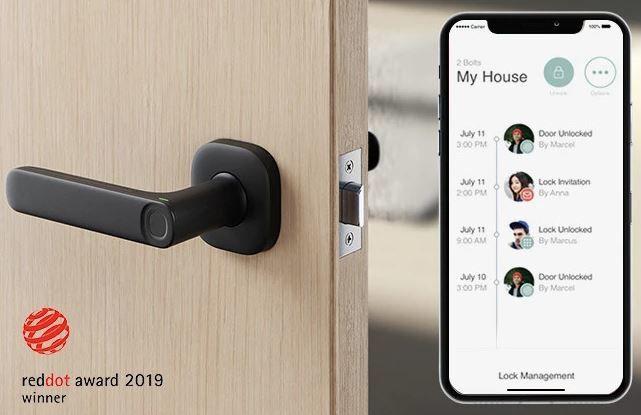 Discreet Biometric Security Locks