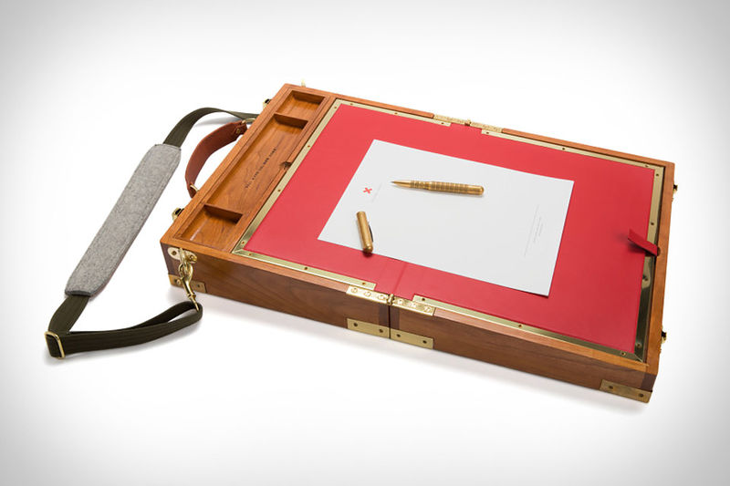 Portable Briefcase Desks