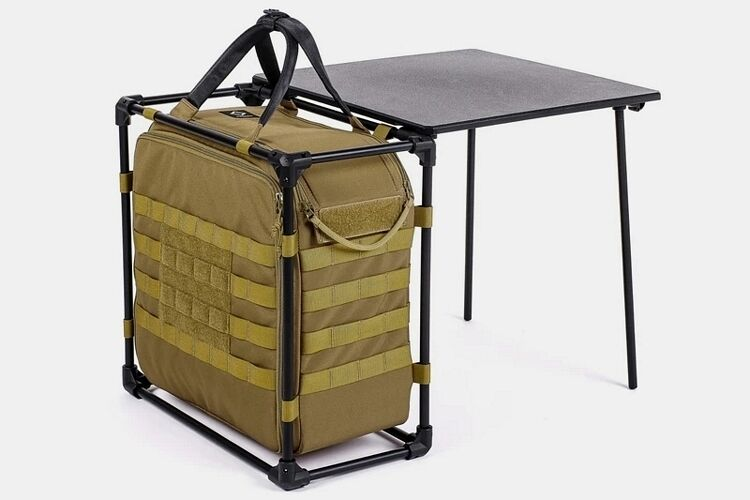 Collapsible Campsite Workstations