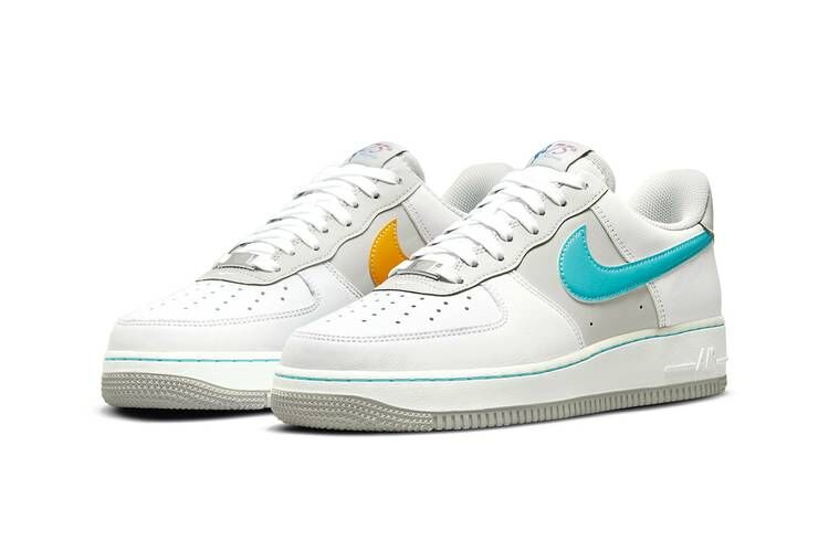 Bright Accented Celebratory Sneakers