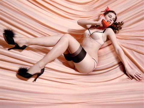 Pin Up Lingerie Fifi Chachnil S Topshop Capsule Collection