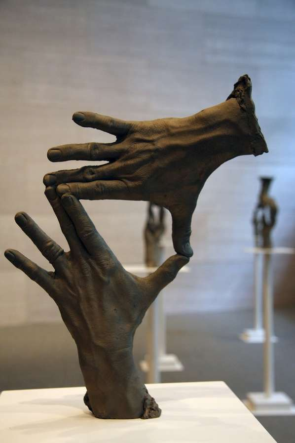 Disembodied Hand Sculptures