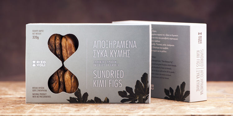 Heart-Shaped Fig Packaging