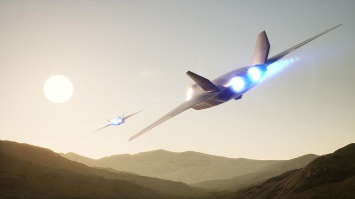 Futuristic Fighter Jet Concepts