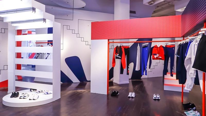 Heritage-Themed Fashion Pop-Ups - The FILA Pop-Up Experience in Soho Celebrates the Brand's History (TrendHunter.com)