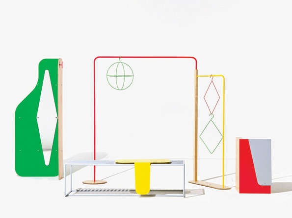 Playful Geometric Furniture