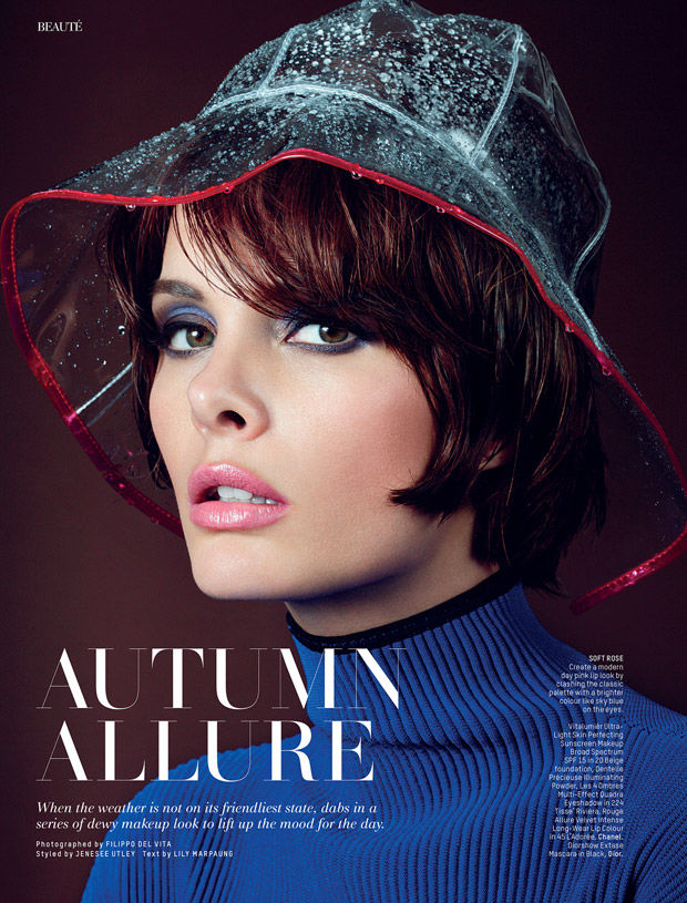 Rain-Ready Beauty Editorials