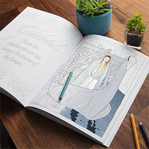 Fantasy Film Coloring Books