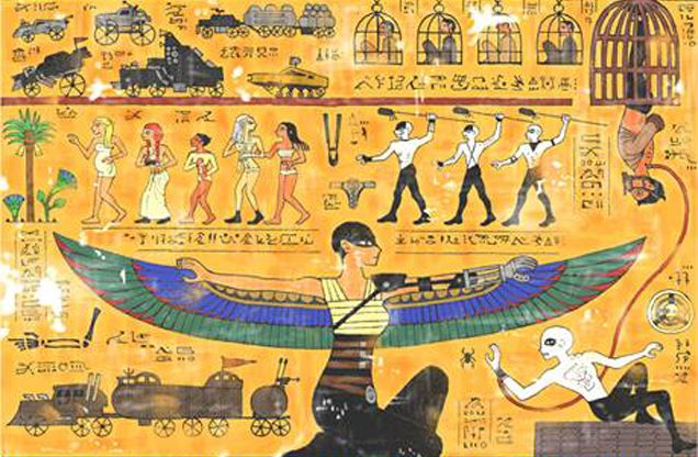 Hieroglyphic Film Retellings